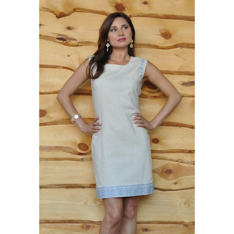 Сукня-футляр з натурального льону  940 грн. - Сукні d386081fa0c15