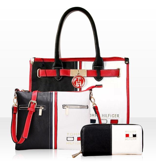 b486a43d0968 Скидка до 60% на модные комплекты женских сумок TOMMY HILFIGER.: 1 ...