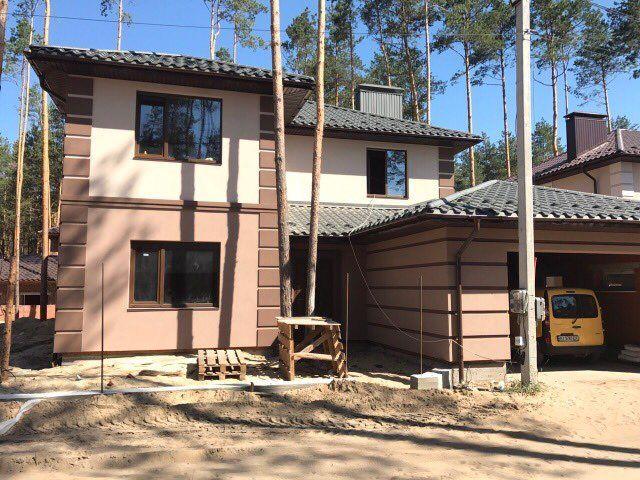 Отдельностоящий дом с гаражем в коттеджном городке закрытого типа