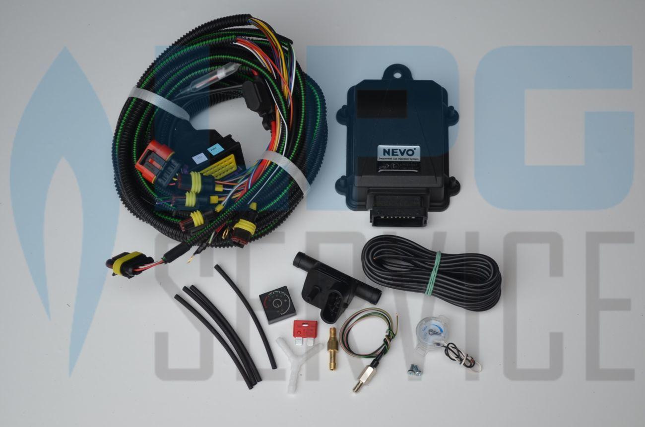 KME NEVO 4 електроника гбо, газовый контроллер