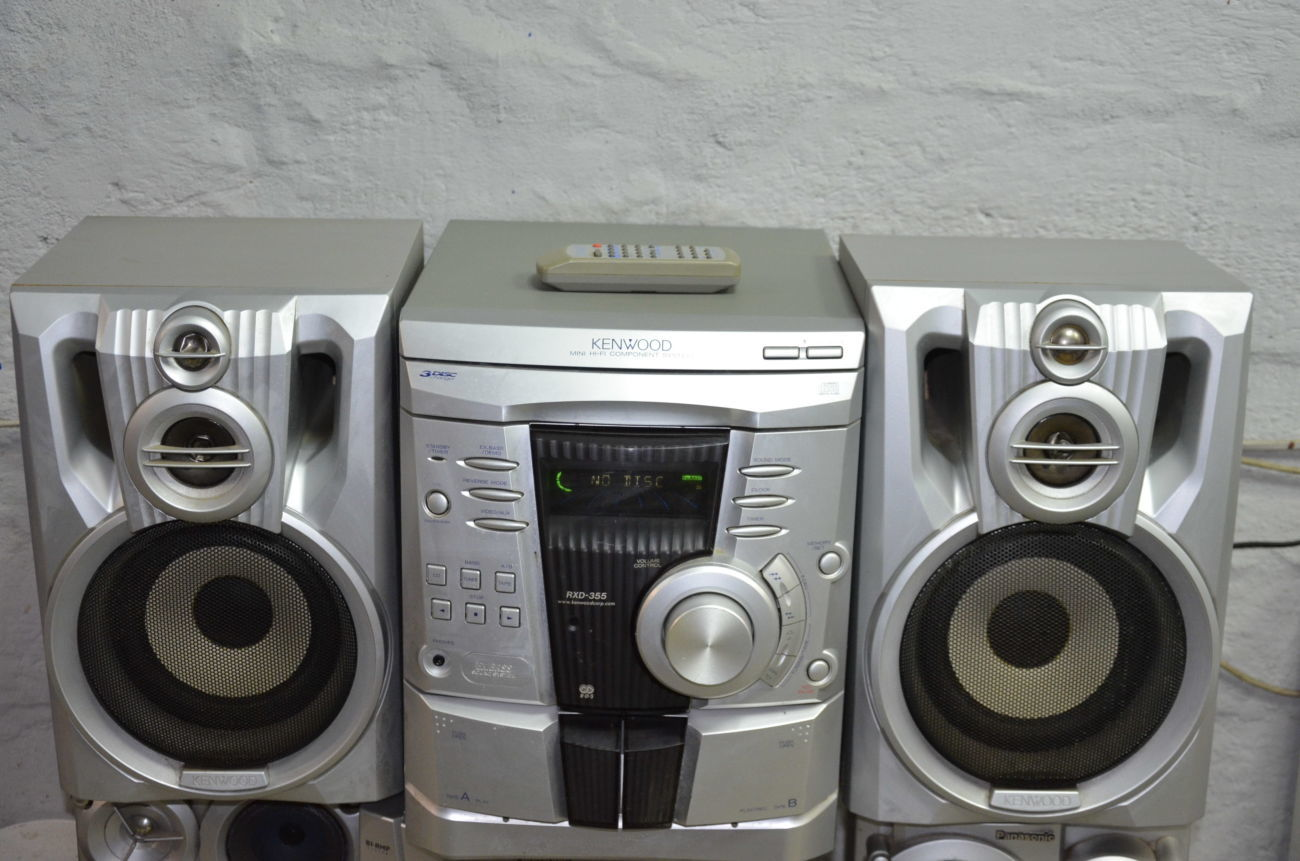Музыкальный центр Kenwood XD-355
