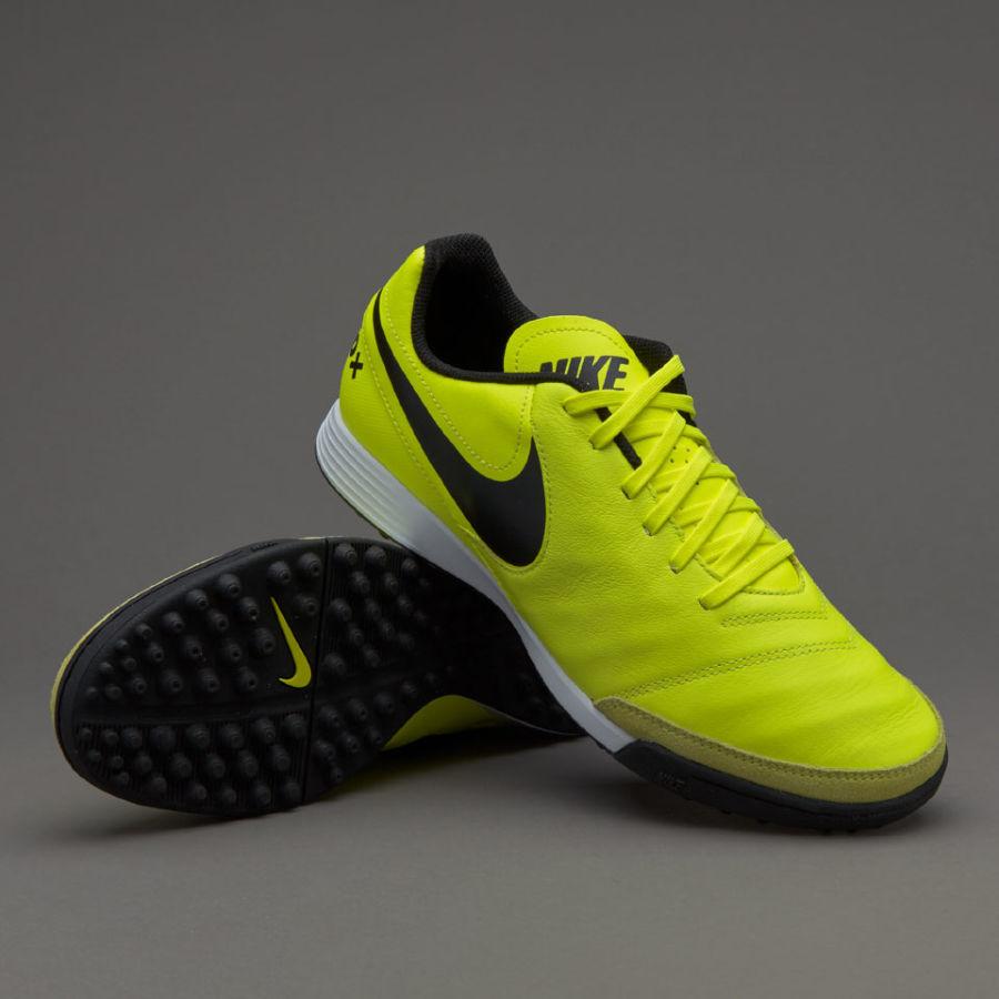d9b02e8d сороконожки Nike Tiempo Genio II Leather TF - Volt/Black темпо: 1 ...