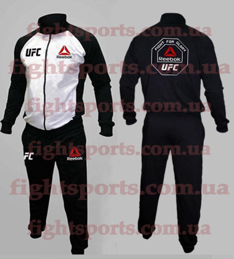 5982e7365ee0d5 Спортивный костюм UFC REEBOK WHITE, VENUM, TMT - оплата при получении!