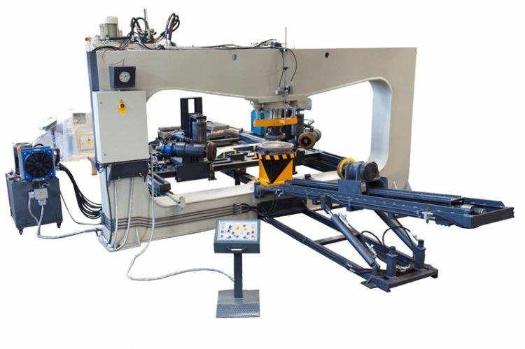 Пресс для днищ Sahinler DEP150x4000