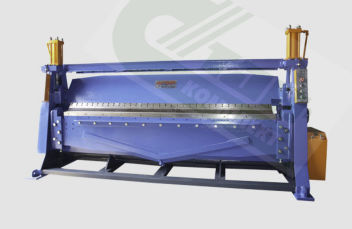 Листогиб с поворотной балкой новый  YZ-2590(4х2590),(4х2020)