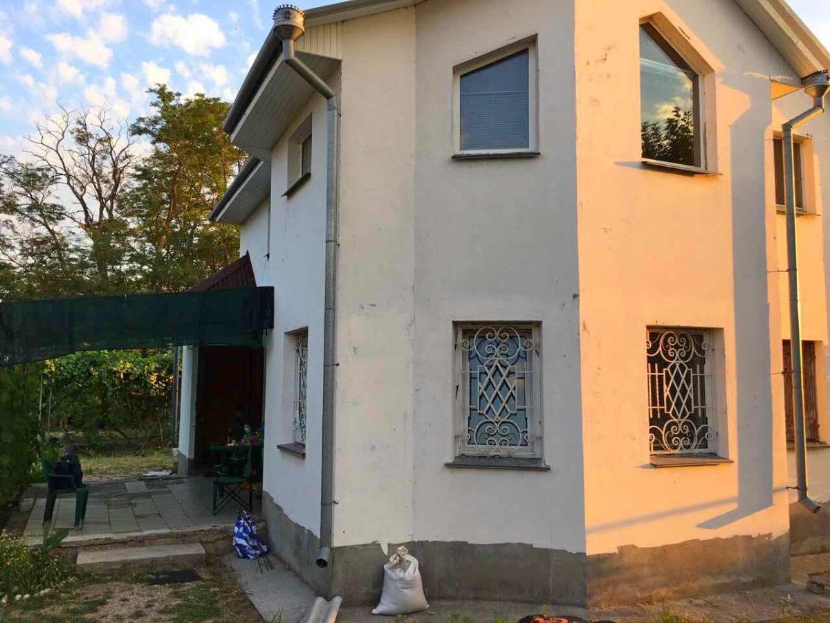 Дом на Покровских Хуторах, с. Покровское. Кинбурнская Коса.