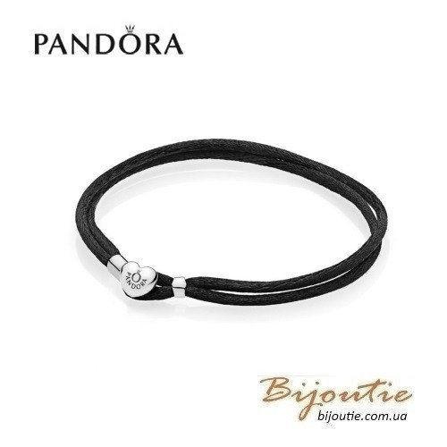 Текстильный браслет Pandora MOMENTS -  590749CBK-S