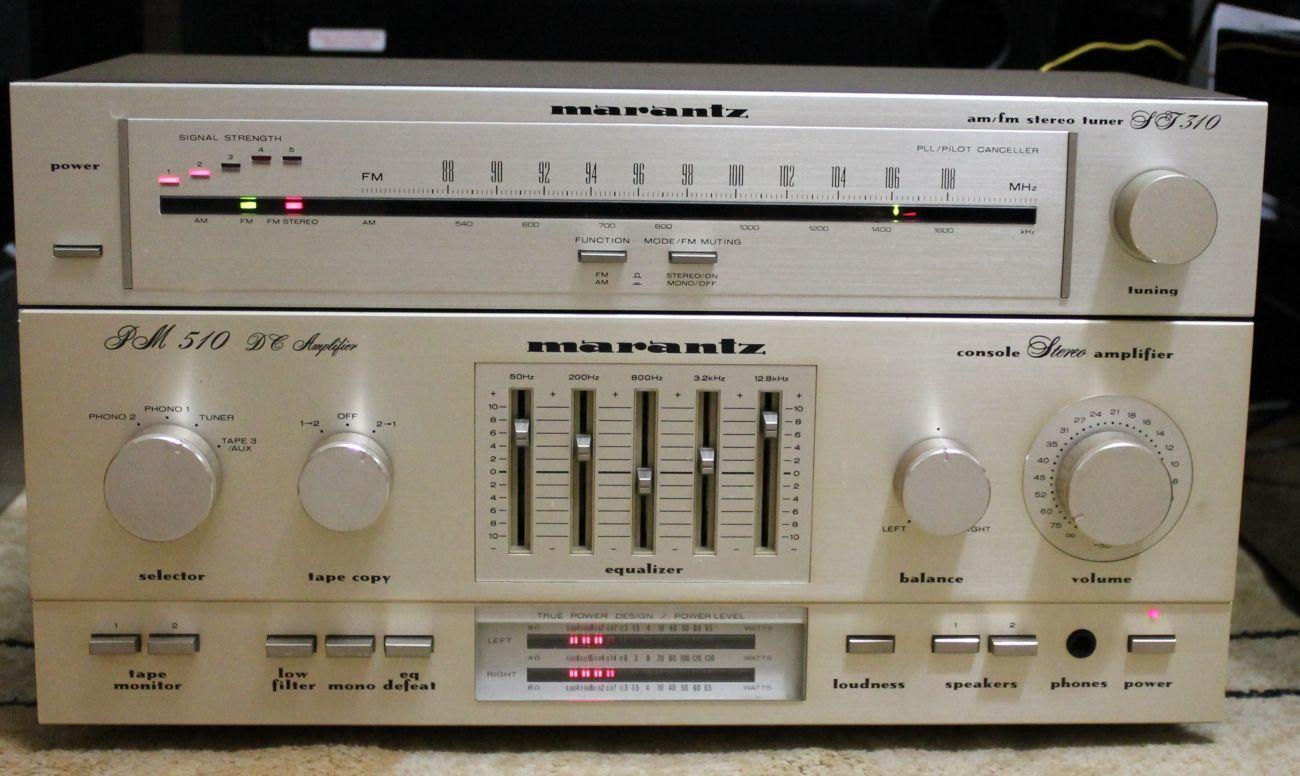 Продам усилитель MARANTZ PM-510 DC+Marantz ST-310