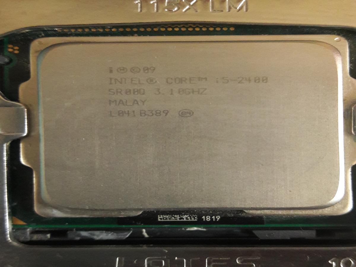 Процессор intel core i5 2400 3.1GHz socket 1155