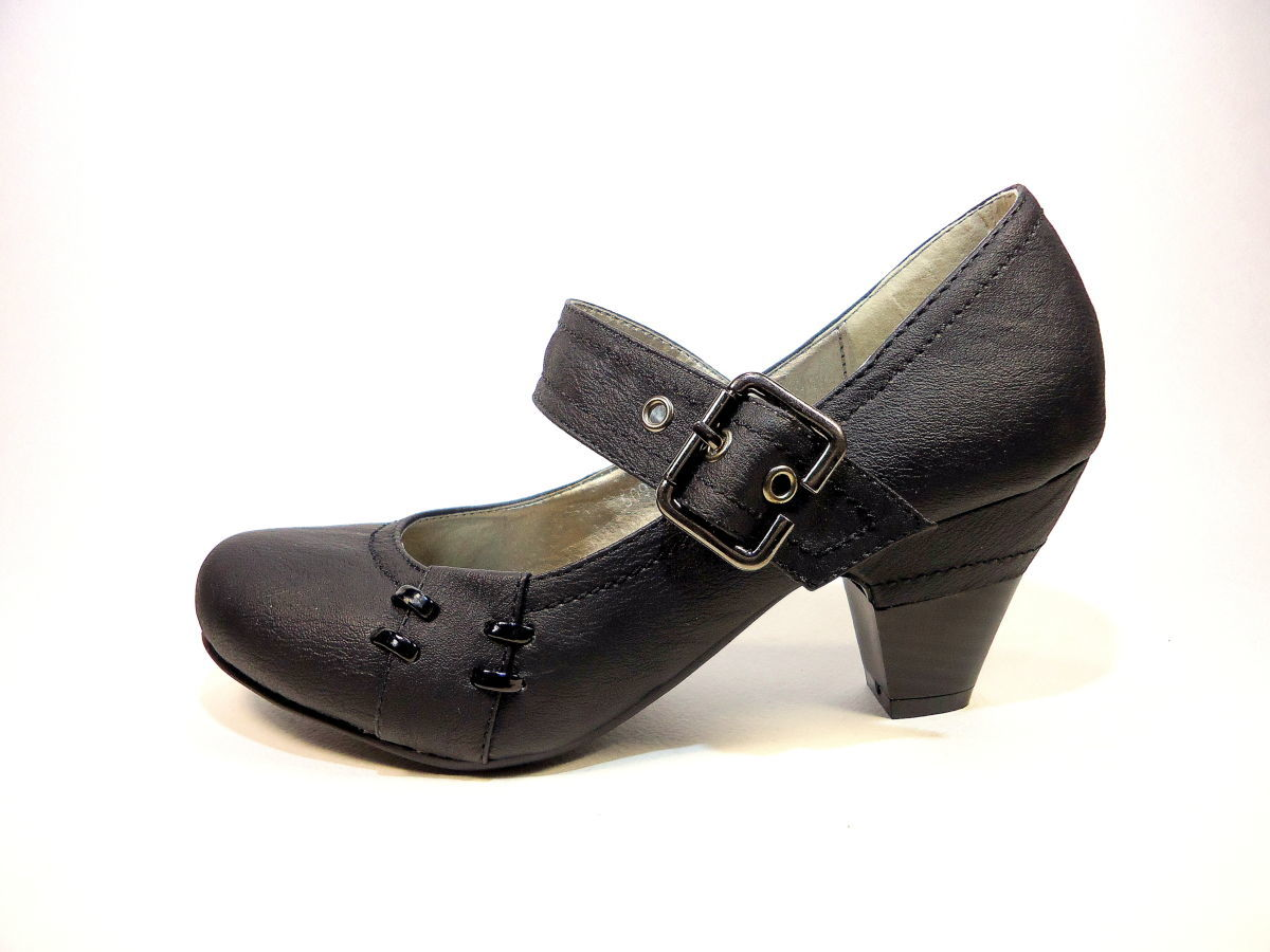 Туфли женские с ремешком c6948b23bd0db