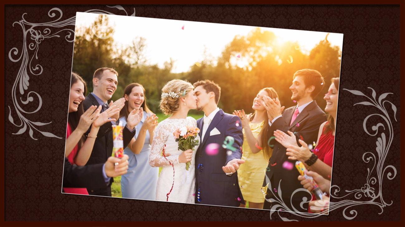 Слайд шоу на свадьбу