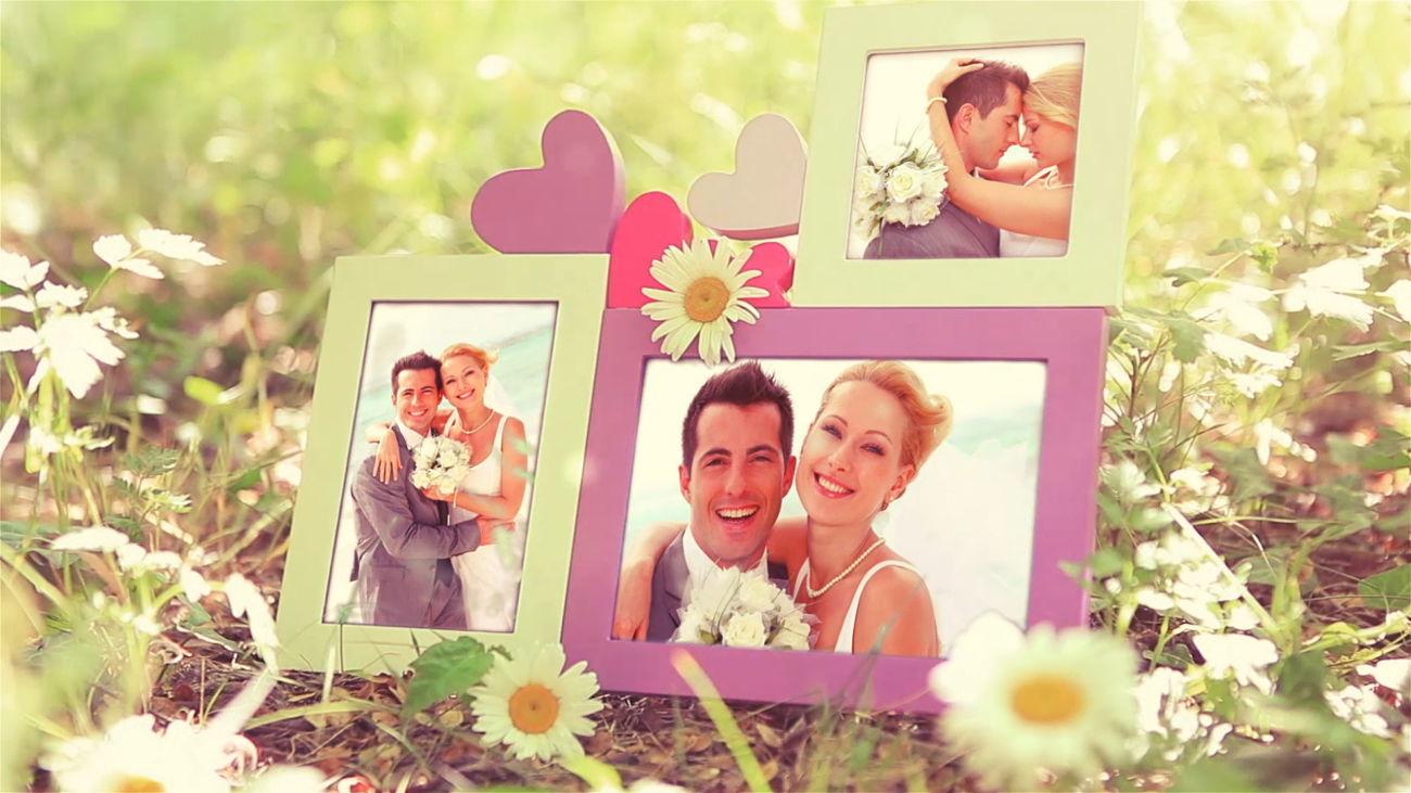 Как создать слайд шоу из фото на свадьбу