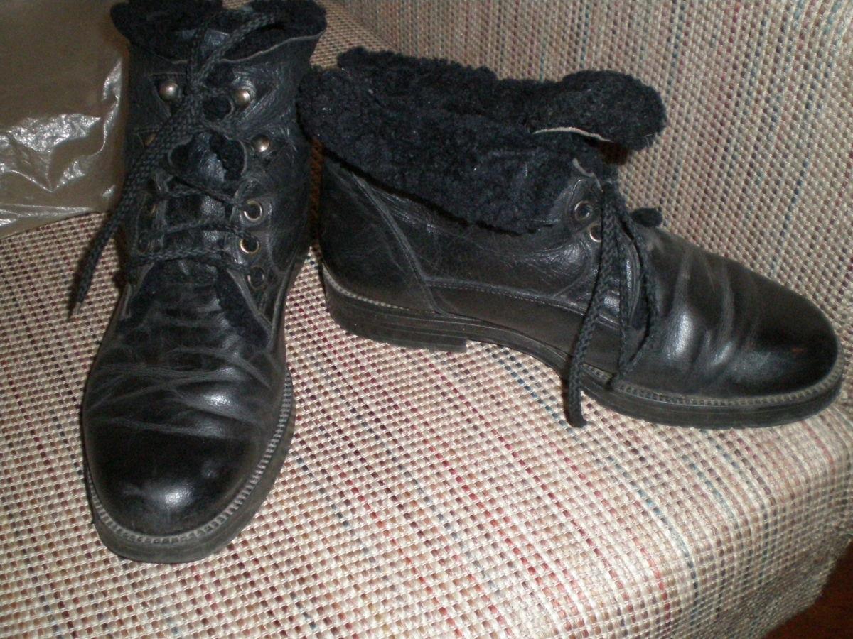 ботинки на осень и зиму