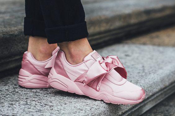 Женские Кроссовки Puma RIHANNA X FENTY BOW pink  1 149 грн ... 62933bc451a1b