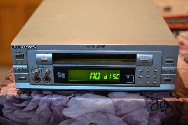 Video CD Playr Crown VCD-2598