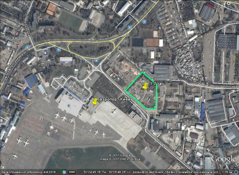Продам участок 1,7 га для строительства многофункционального комплекса