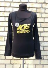 Футболка / реглан с длинным рукавом Iceberg, оригинал, новая с бирками