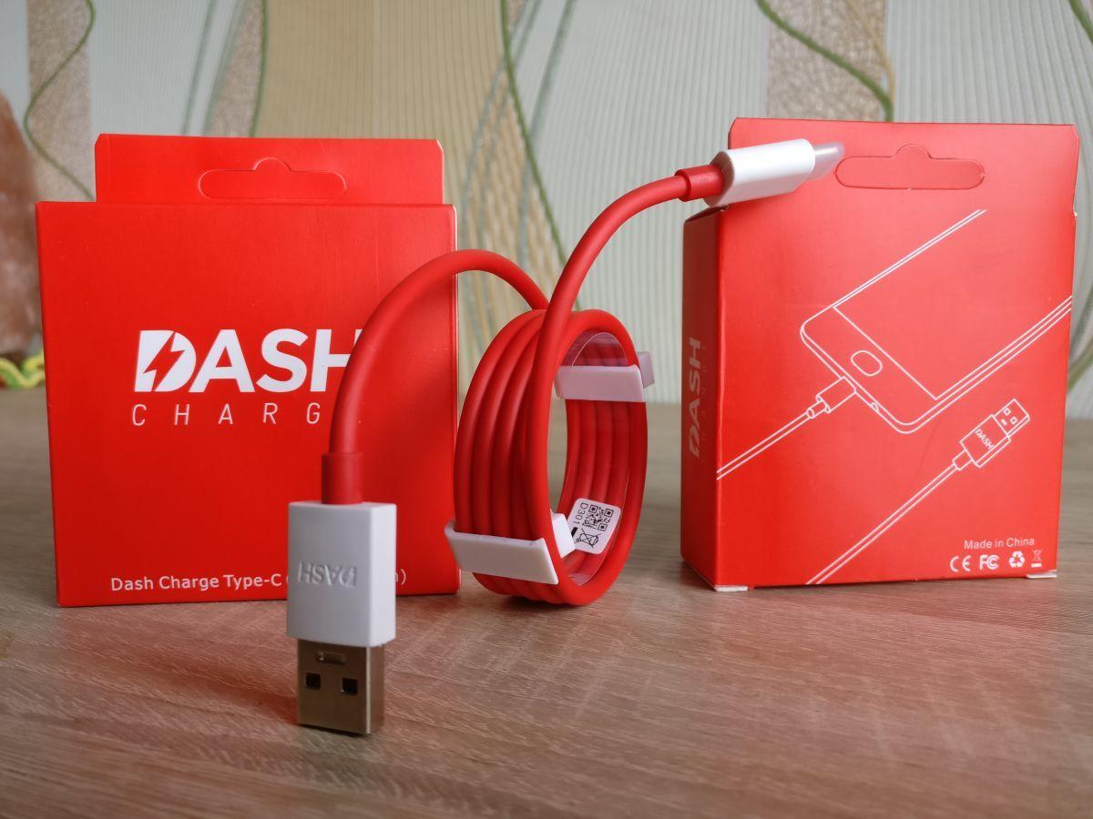 Кабель USB Type-C для OnePlus 3/3Т/5/5T/6, Dash Charge, оригинал.