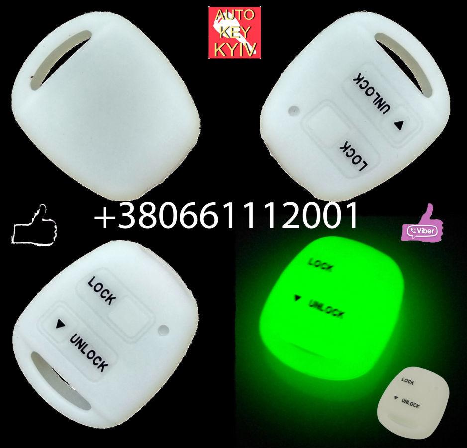 Флуоресцентный чехол ключа Тойота/Лексус