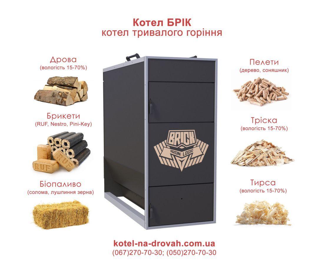 Котлы пиролизного типа на разных видах топлива: