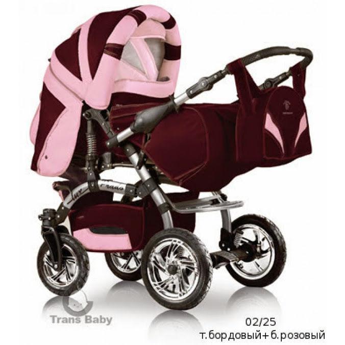 Детская коляска-трансформер Prado Lux, Trans baby