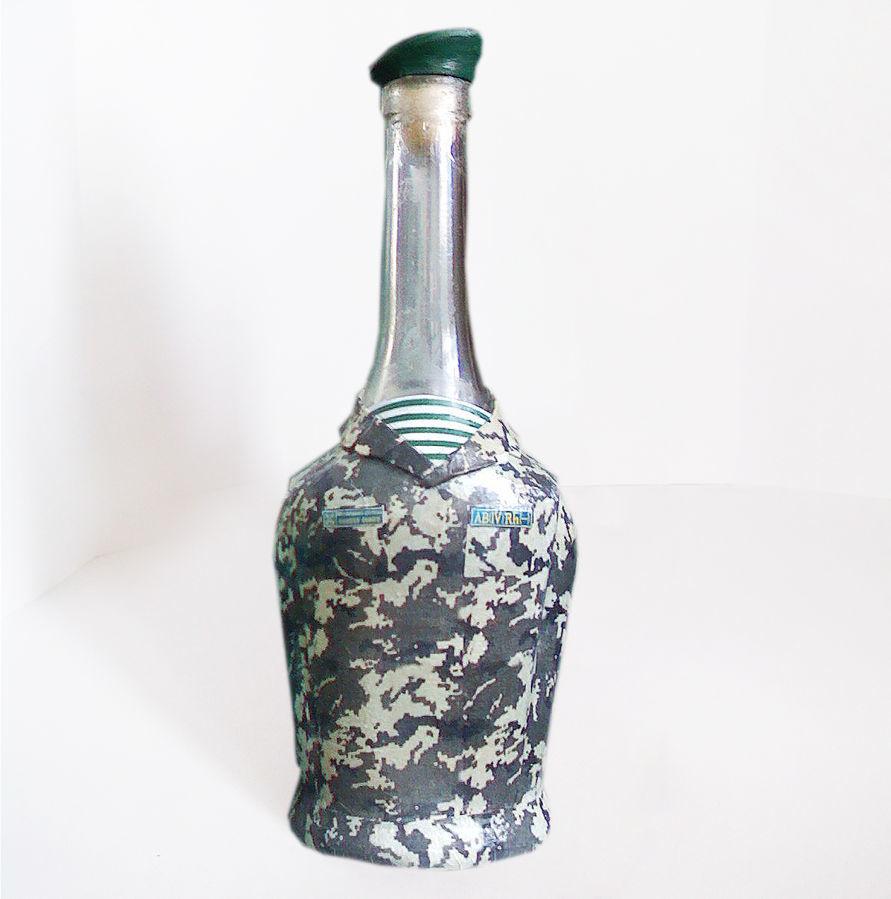 Декор бутылки День пограничника Подарок мужчине пограничнику