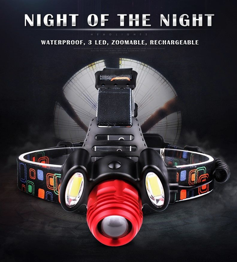 Налобный фонарь Boruit HL-723 Распродажа!