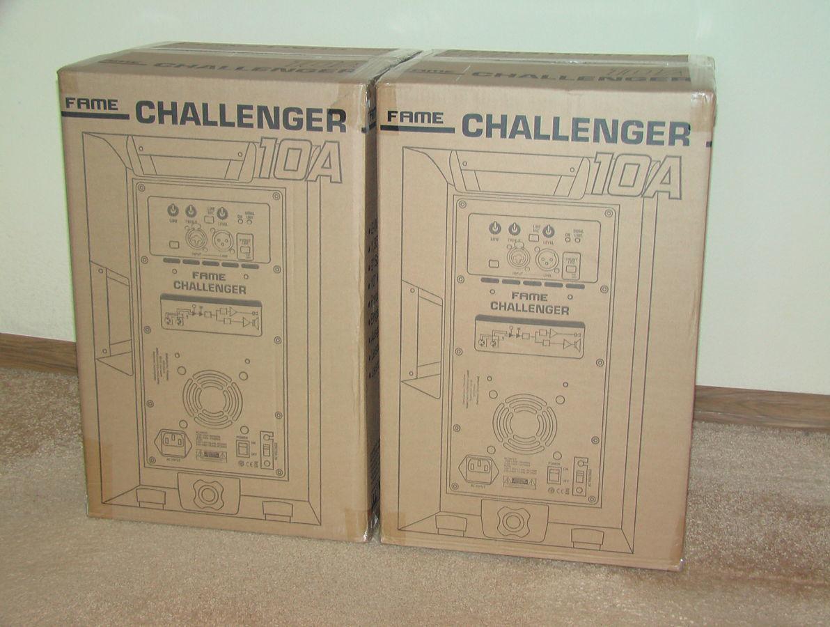 Активные колонки Fame Challenger 10A. Новые. Из Германии.