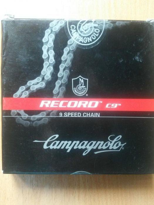 Цепь Campagnolo Record C9 (италия) (9 скор)