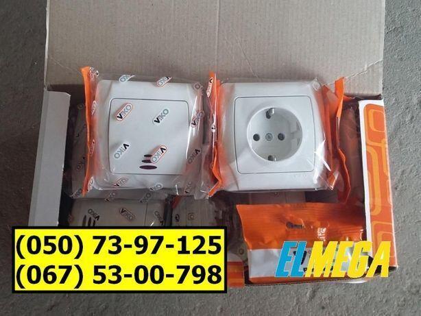 Розетки, вимикачі та аксесуари Viko