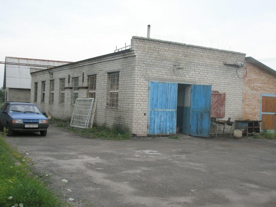 Офісно-виробниче приміщення 2000 м2 Балучин