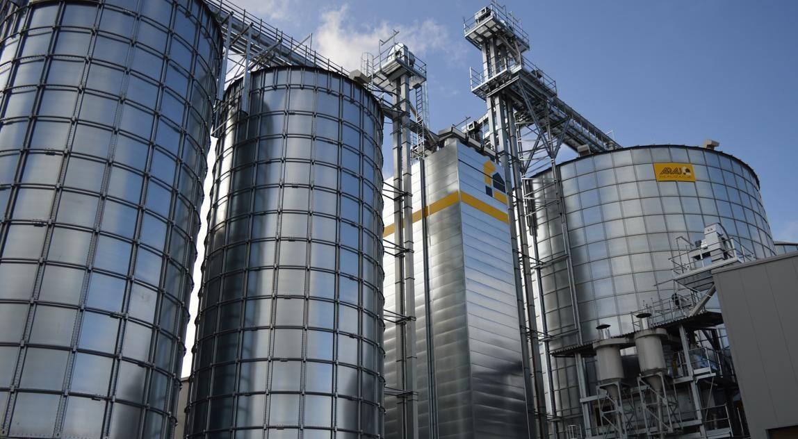 Индустриальная энергосберегающая зерносушилка