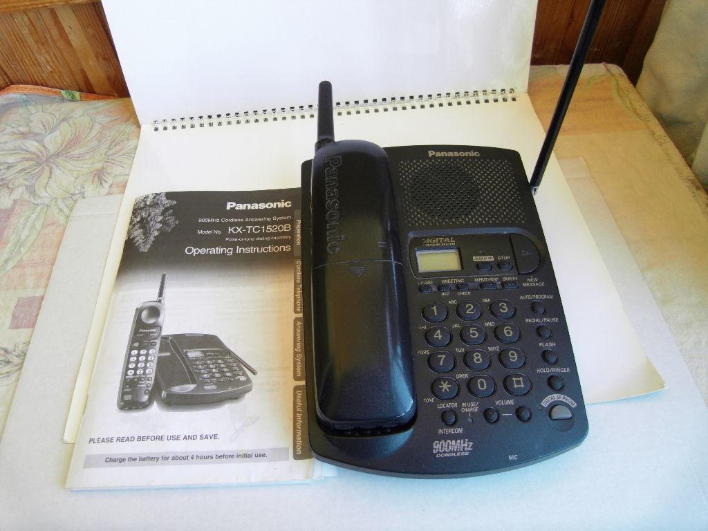 Продам радиотелефон с автоответчиком Panasonic Model No.  TC-1520B