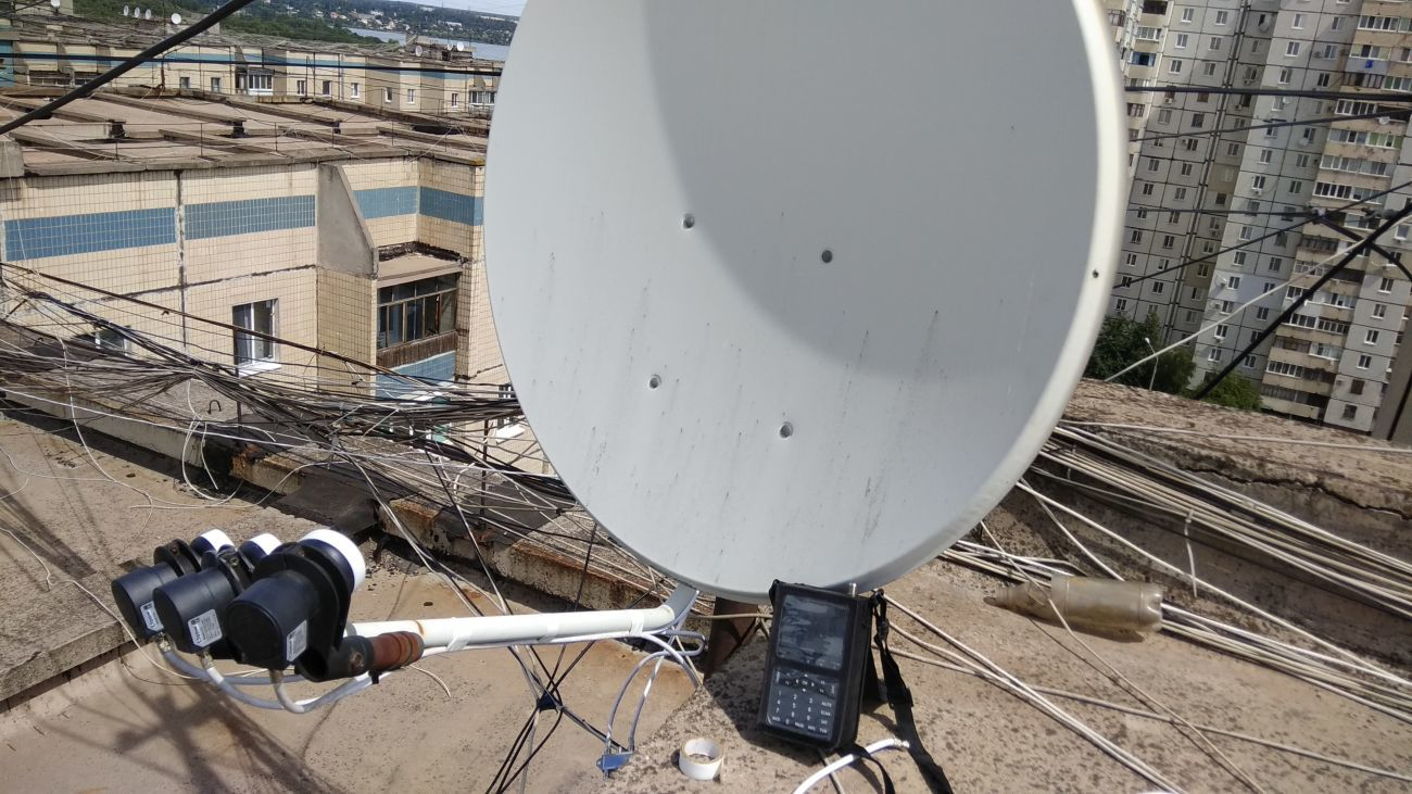 Ремонт и настройка спутниковых антенн, прошивка тюнеров