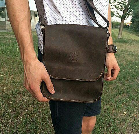 9615ca5b92cf Мужская сумка/планшетка из натуральной кожи (чоловіча сумка шкіряна)