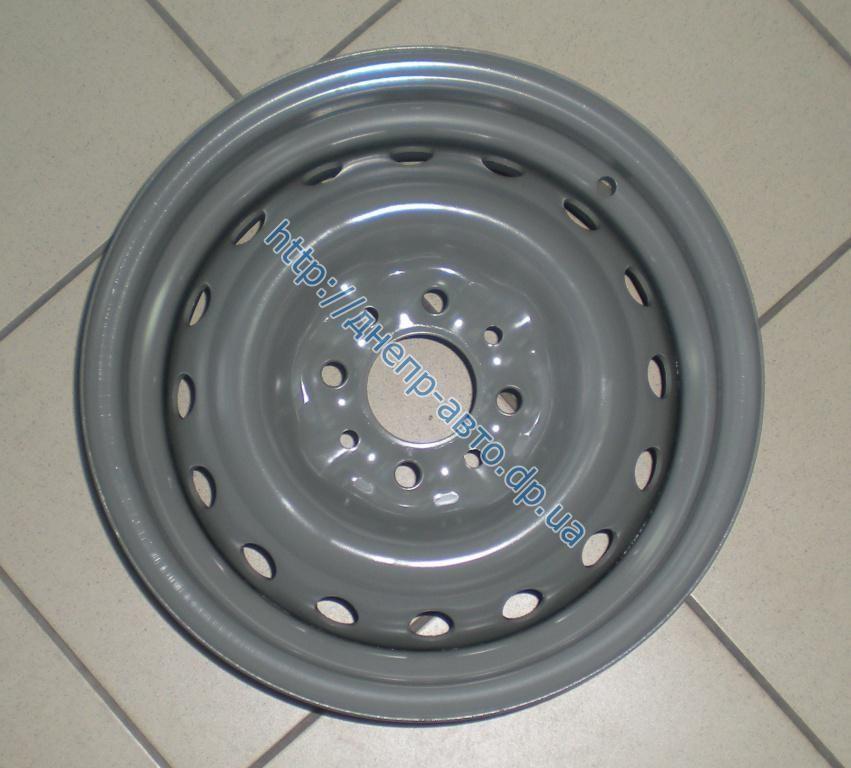 Диск колесный 2103 R 13 4x98 58.6 ВАЗ серый
