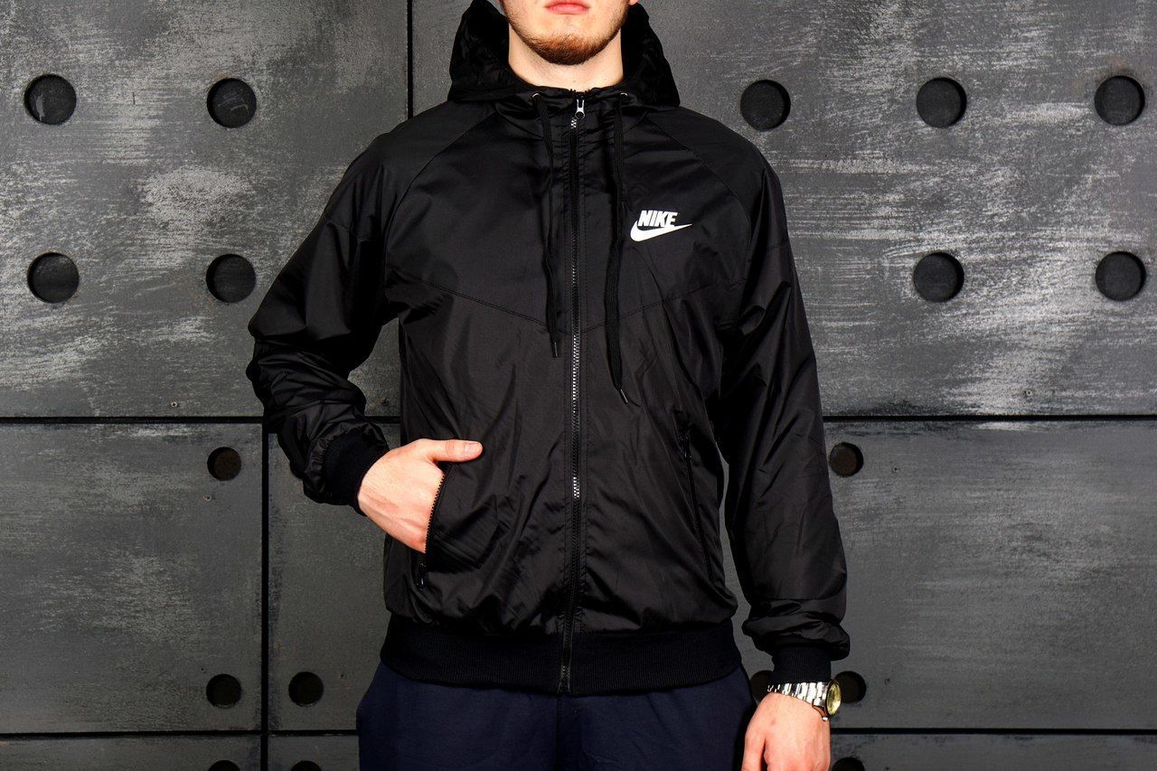 fae1f9f1 Мужская ветровка Nike осень-весна. Купить куртку Найк недорого ...