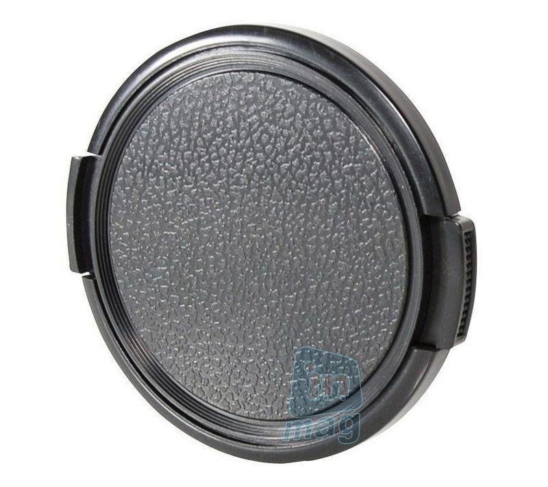 Крышка для объектива без лого для ВСЕХ камер + шнурок (49-77 мм).