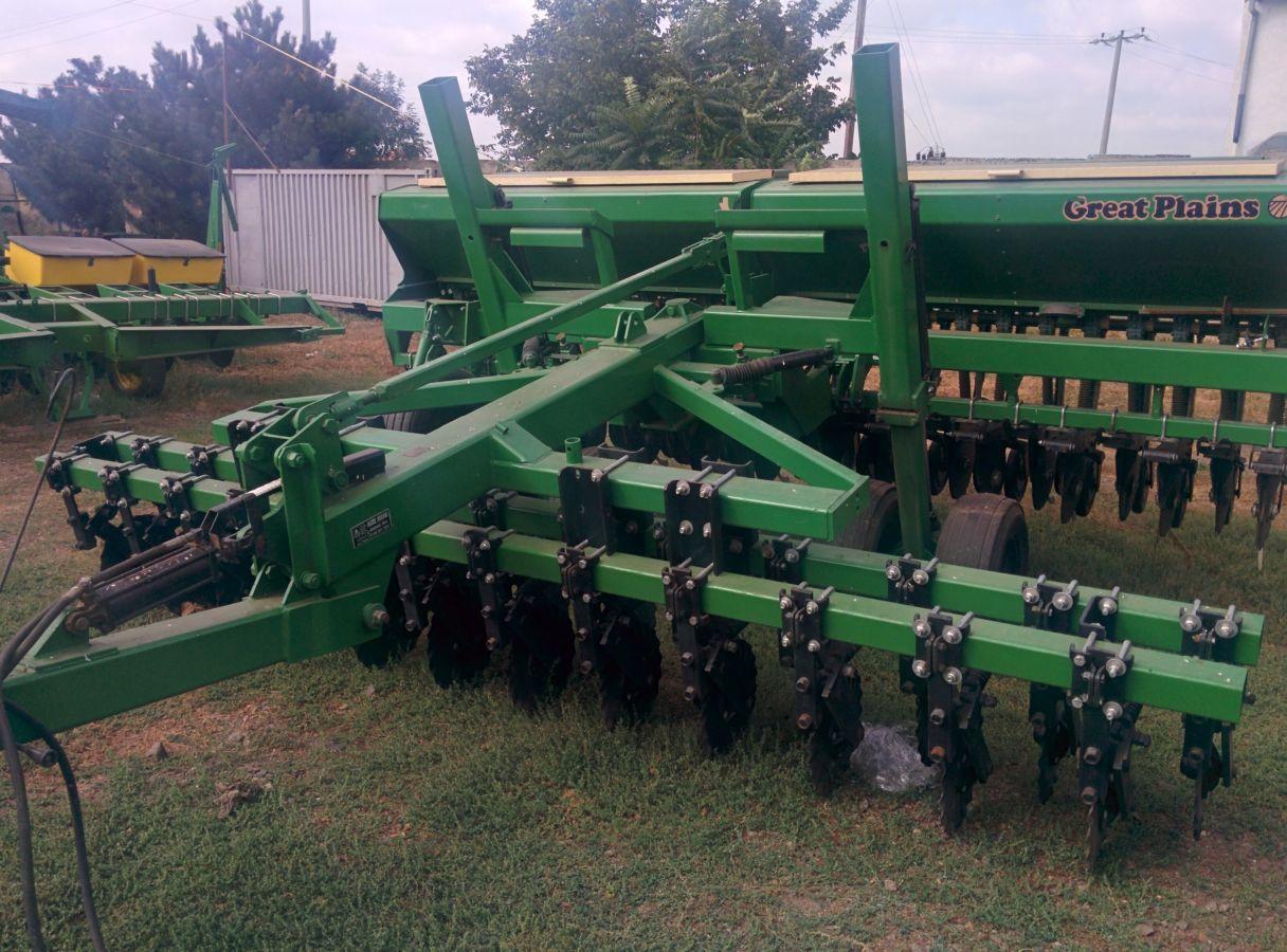 Сеялка зерновая Great Plains 4.6м. из США