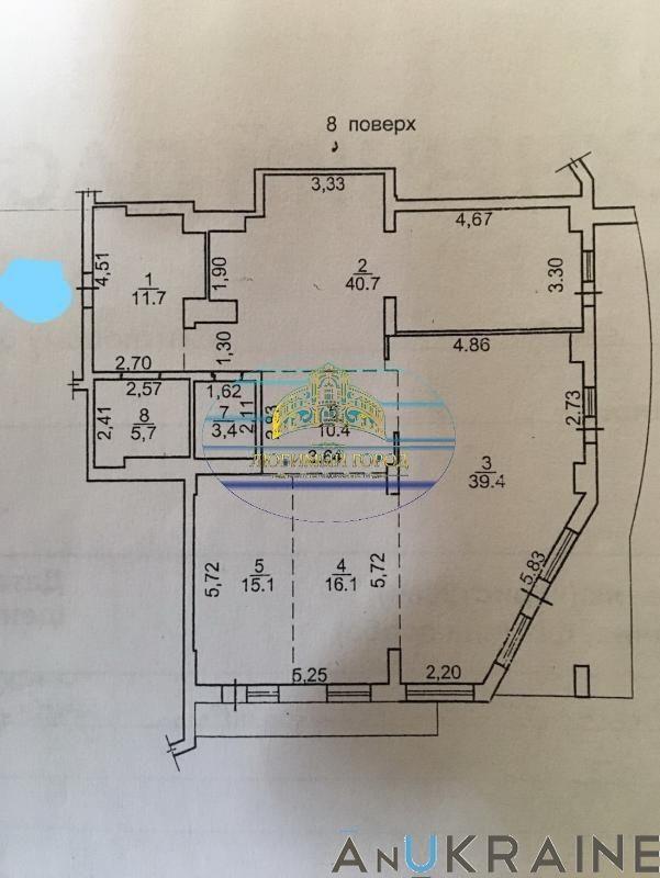 """Просторная квартира 156 кв.м. ЖК """"Марсель"""""""