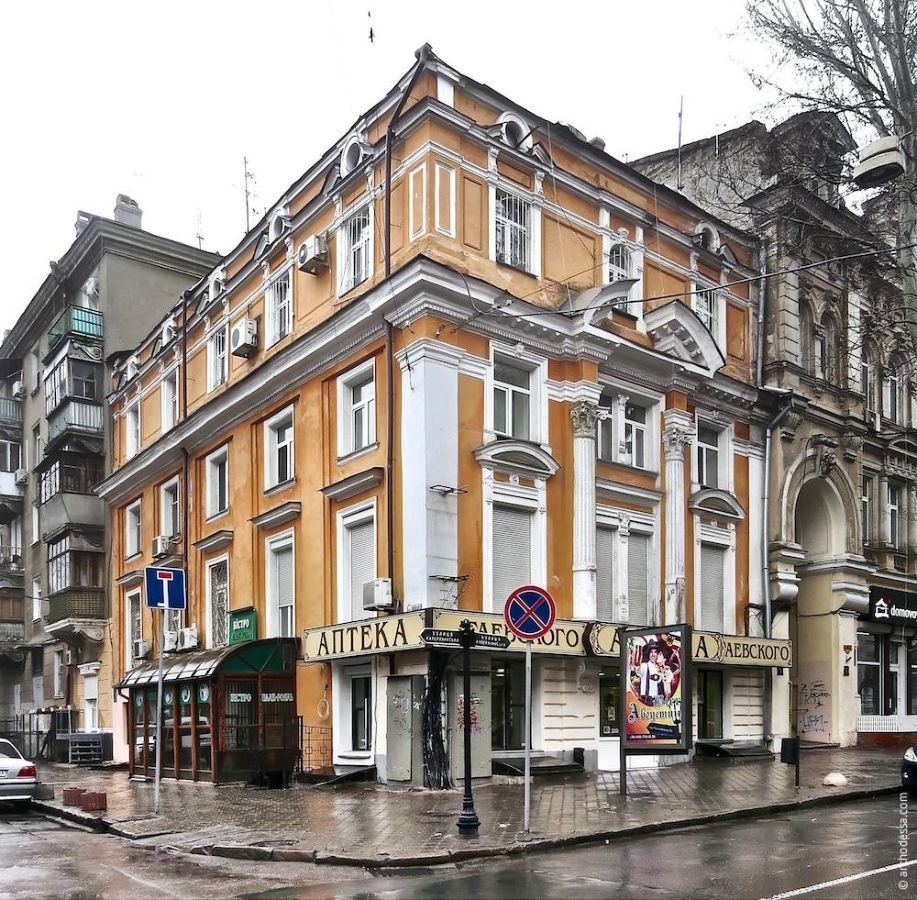 Квартира в секции торговых рядов Пале-Рояль.