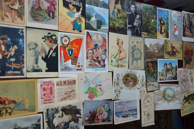 Коллекционер почтовых открыток называется