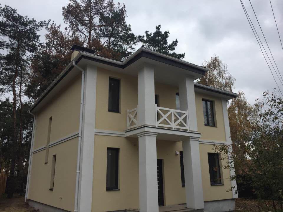 Белогородка продажа нового дома с соснами