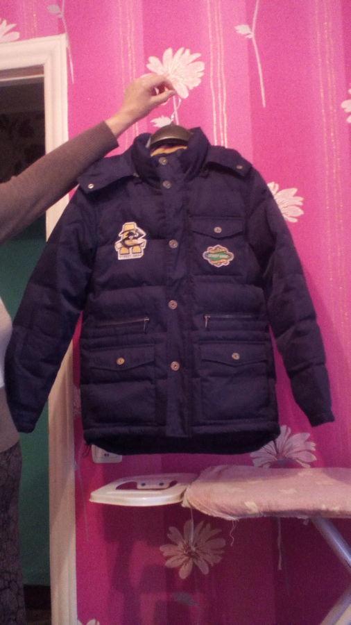 Куртка синього кольору для хлопчика/темно-синяя куртка для мальчика