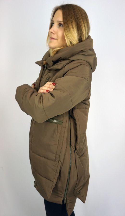 Акция! Куртка женская парка зимняя стильная с карманами  600 грн ... 0ea2e6b417c