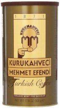 Молотый турецкий кофе Kurukahveci mehmet efendi