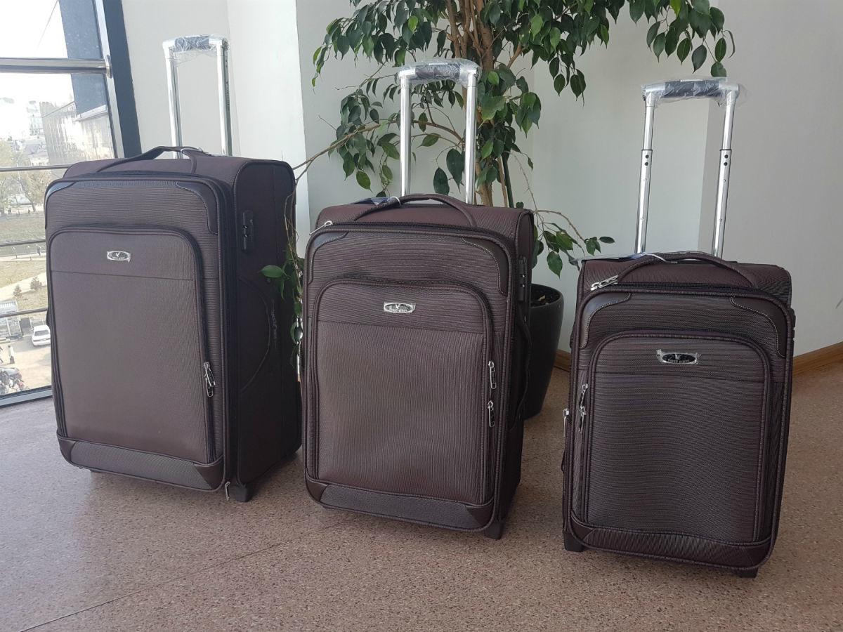 1ab1955eba8b Комплект чемоданов Phoenix. Дорожный чемодан на колесах Three Birds