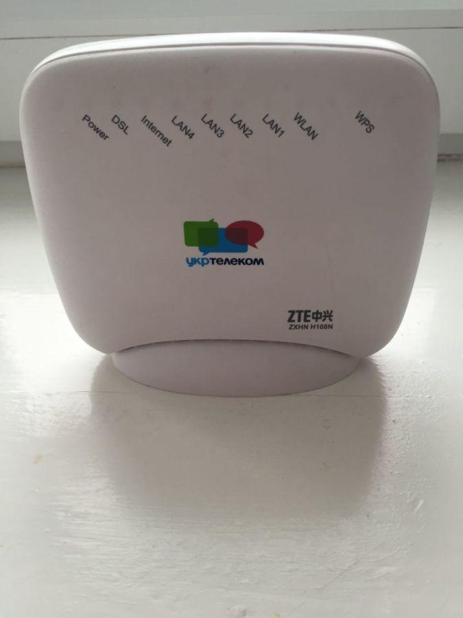 Wi-Fi Модем-роутер Укртелеком