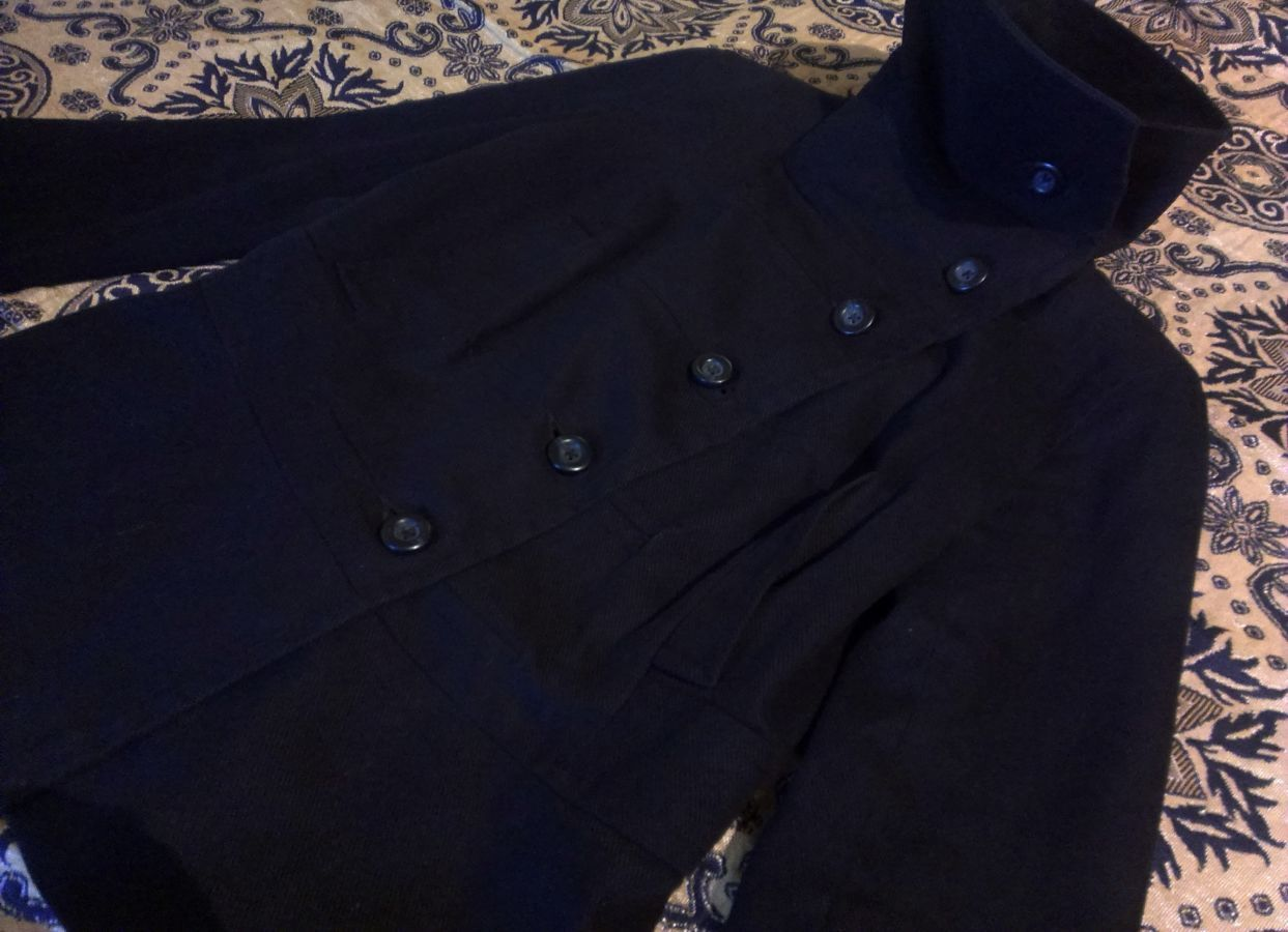 пальто демисезонное,сток, S-M