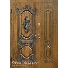 Двері в будинок. Steelguard Sangria Big Glass Resiste. Ціни виробника!